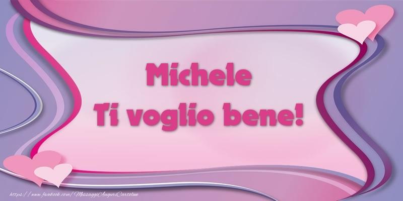 Cartoline d'amore - Michele Ti voglio bene!