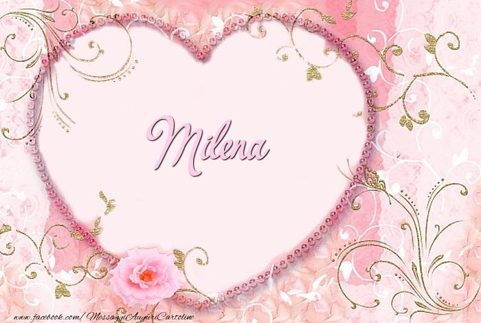 Cartoline d'amore - Milena