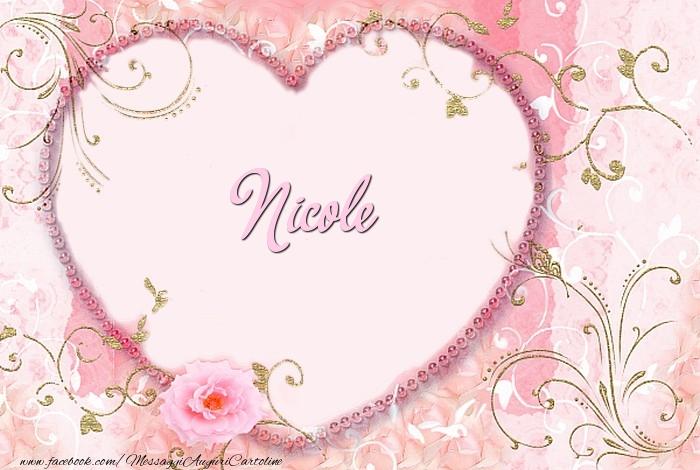 Cartoline d'amore - Nicole