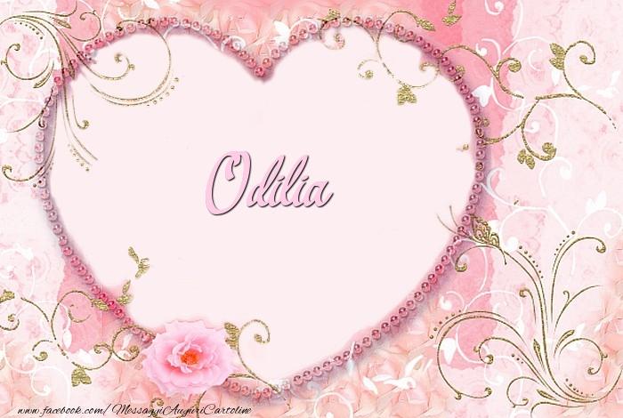Cartoline d'amore - Odilia