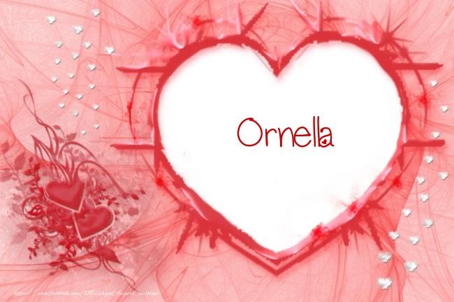 Cartoline d'amore - Love Ornella!