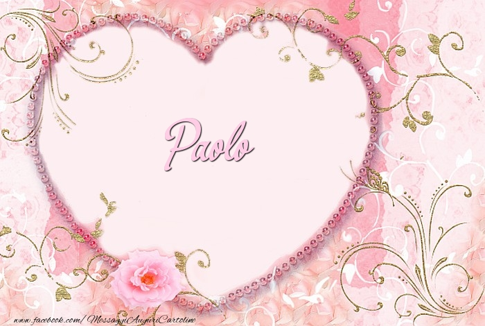 Cartoline d'amore - Paolo