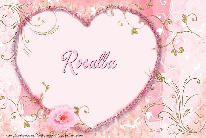 Cartoline d'amore - Rosalba