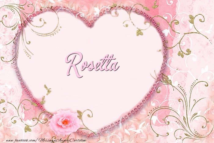 Cartoline d'amore - Rosetta