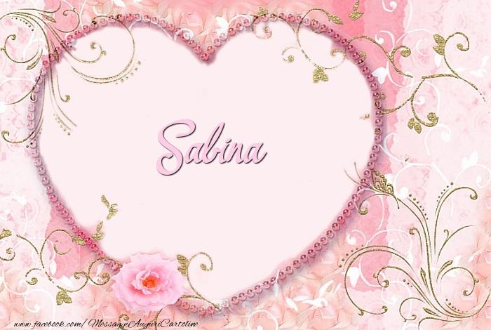 Cartoline d'amore - Sabina