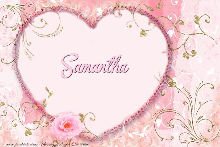 Cartoline d'amore - Samantha