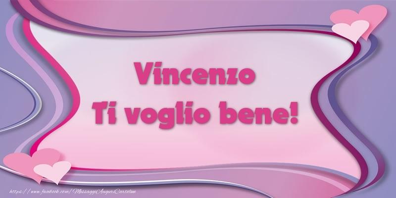 Cartoline d'amore - Vincenzo Ti voglio bene!