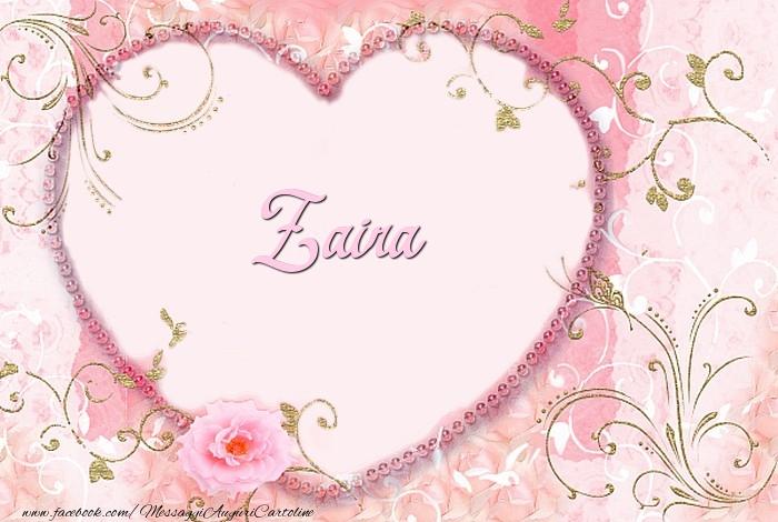 Cartoline d'amore - Zaira