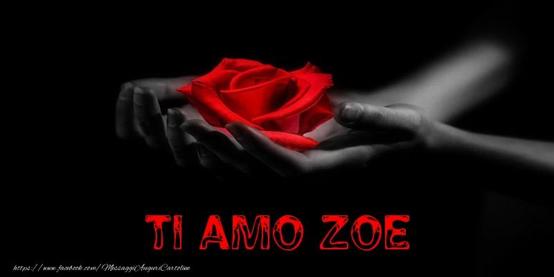 Cartoline d'amore - Ti Amo Zoe