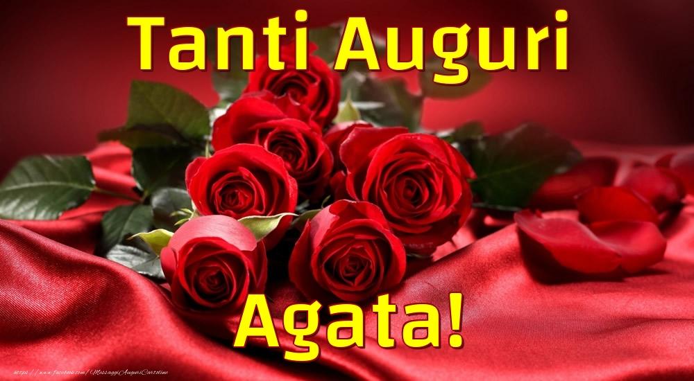 Cartoline di auguri - Tanti Auguri Agata!