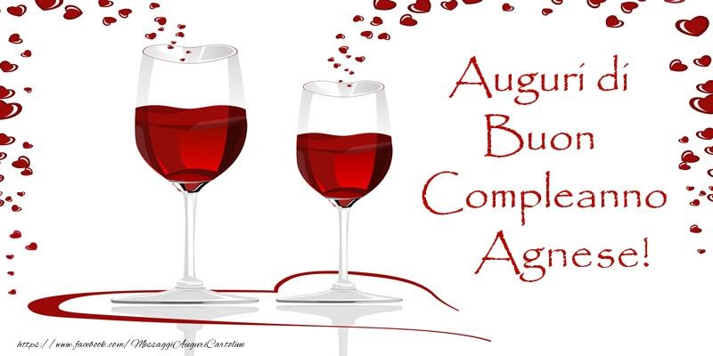 Cartoline di auguri - Auguri di Buon Compleanno Agnese!
