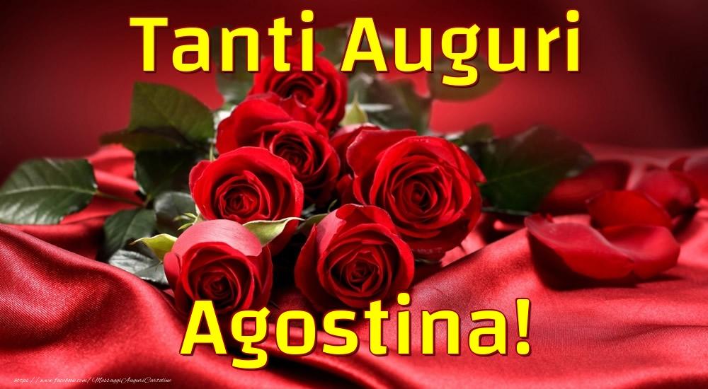 Cartoline di auguri - Tanti Auguri Agostina!
