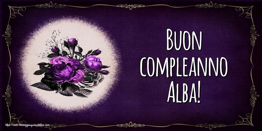Cartoline di auguri - Buon compleanno Alba!