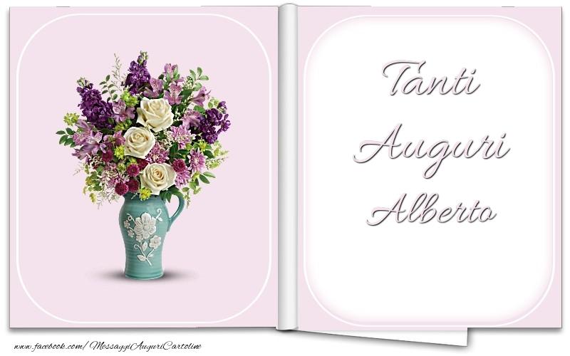 Cartoline di auguri - Tanti Auguri Alberto