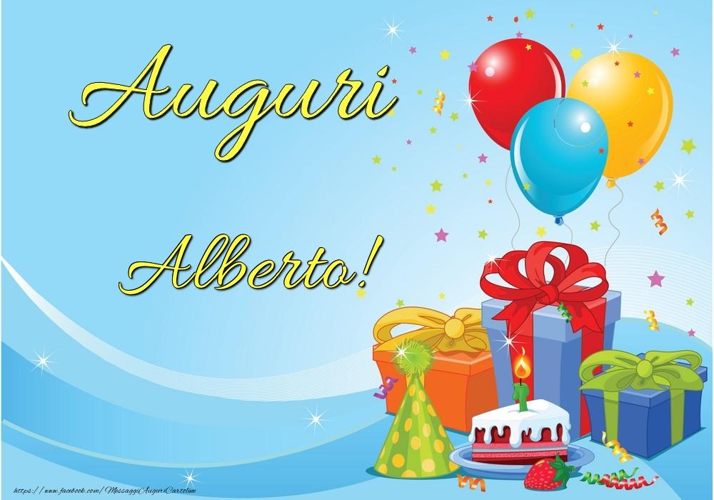 Cartoline di auguri - Auguri Alberto!