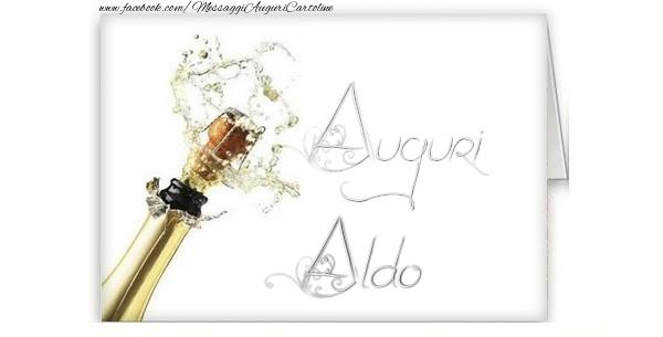 Cartoline di auguri - Auguri, Aldo