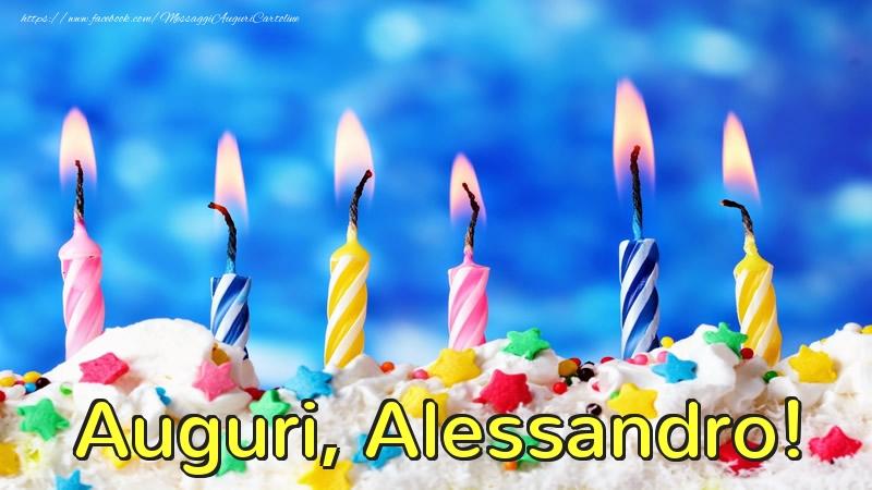 Cartoline di auguri - Auguri, Alessandro!