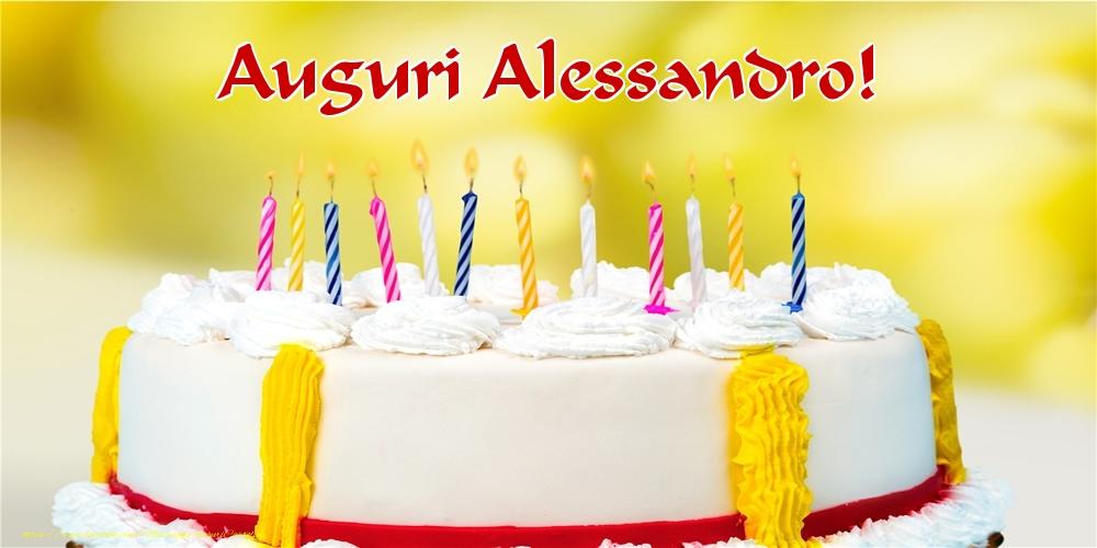 Cartoline di auguri - Auguri Alessandro!