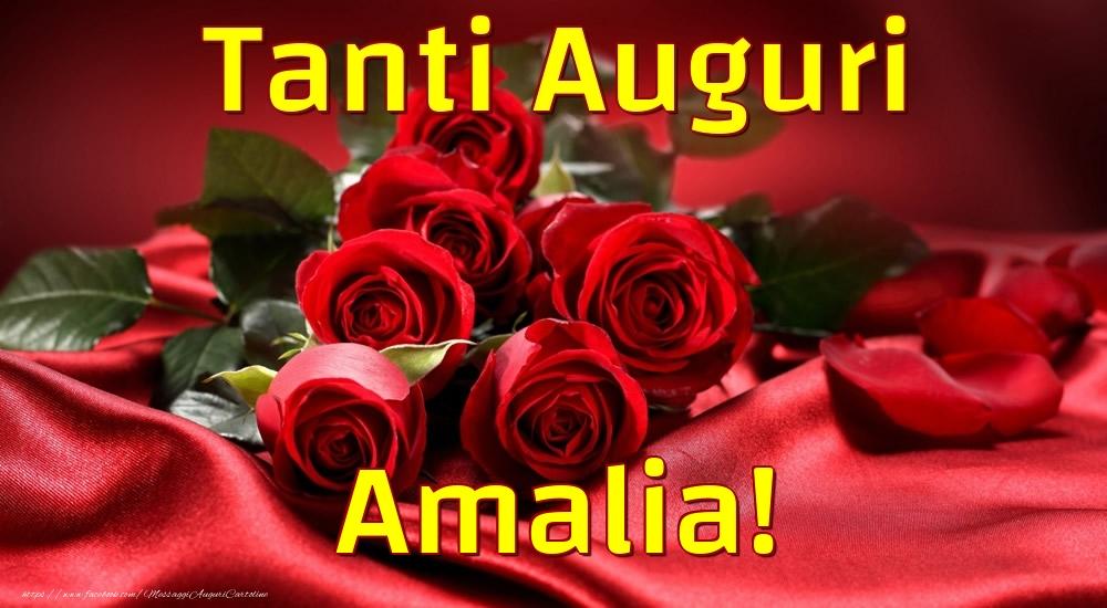 Cartoline di auguri - Tanti Auguri Amalia!