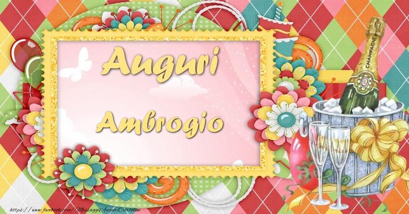 Auguri ambrogio cartoline di auguri per ambrogio for Cartoline per auguri