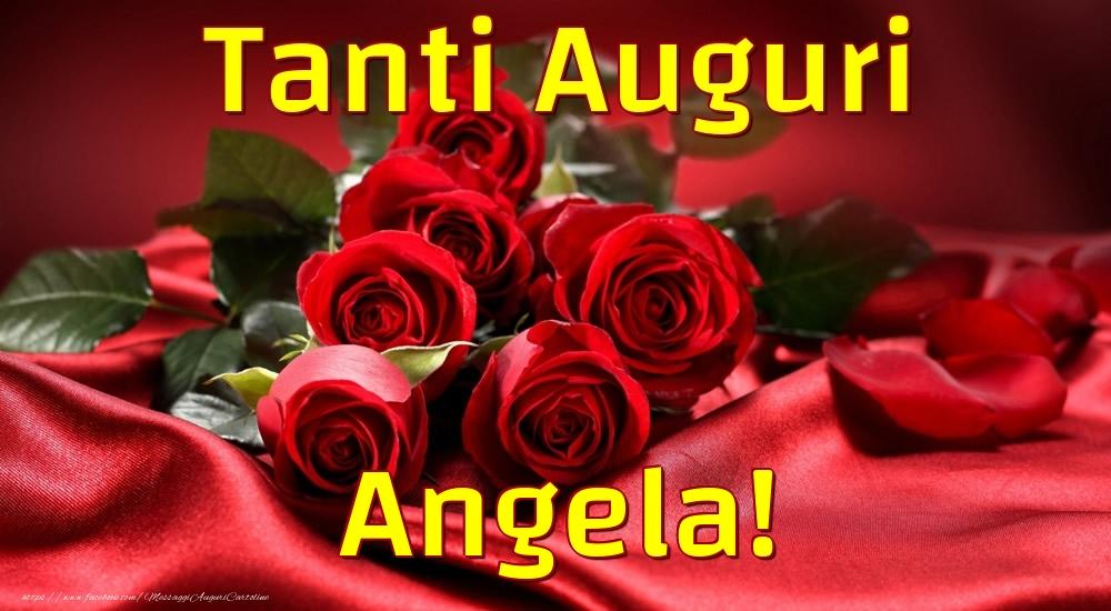 Cartoline di auguri - Tanti Auguri Angela!