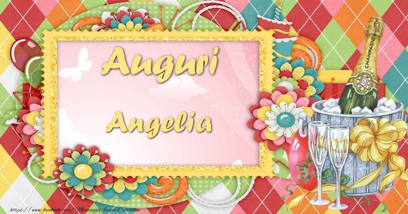 Cartoline di auguri - Auguri Angelia
