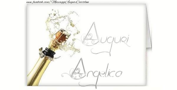 Cartoline di auguri - Auguri, Angelica