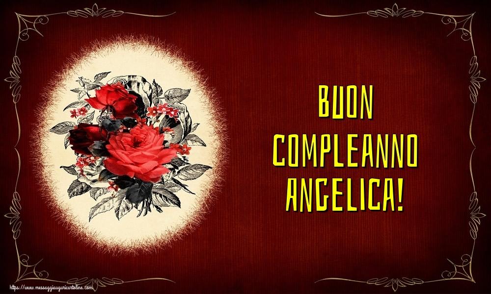 Cartoline di auguri - Buon compleanno Angelica!