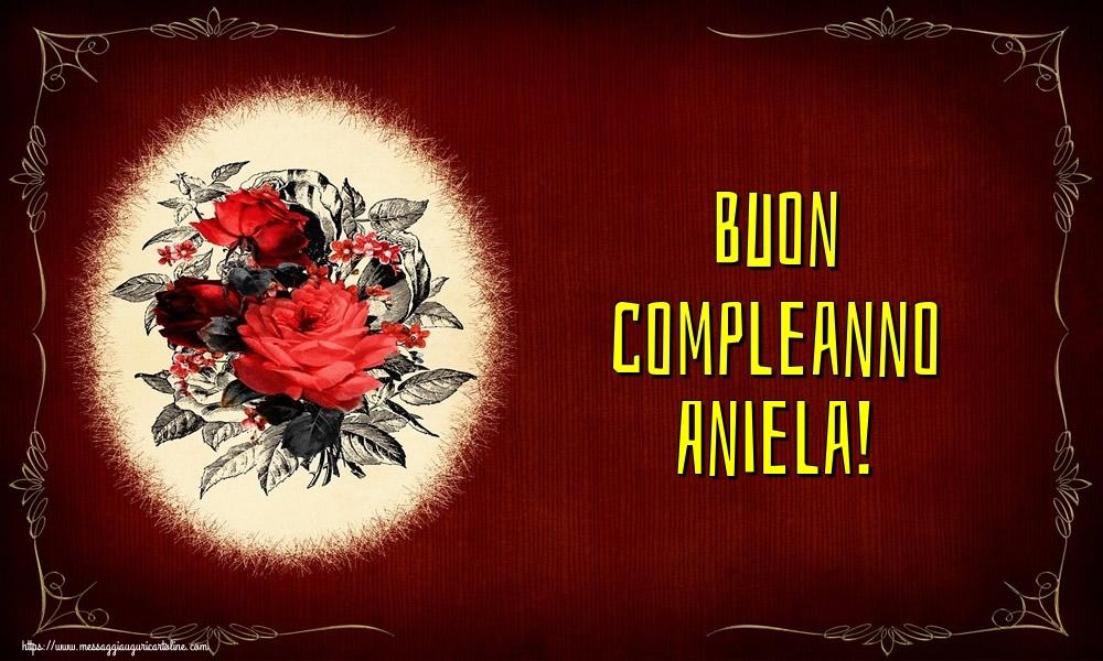 Cartoline di auguri - Buon compleanno Aniela!