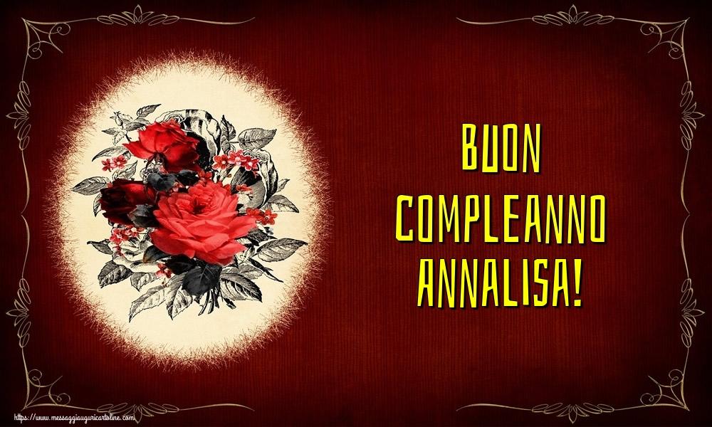 Cartoline di auguri - Buon compleanno Annalisa!