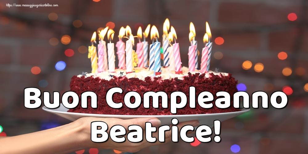 Cartoline di auguri - Buon Compleanno Beatrice!