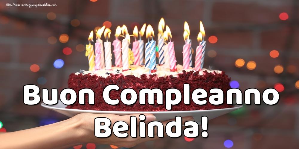 Cartoline di auguri - Buon Compleanno Belinda!