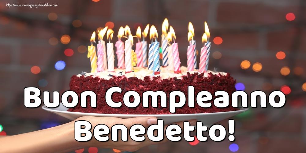 Cartoline di auguri - Buon Compleanno Benedetto!