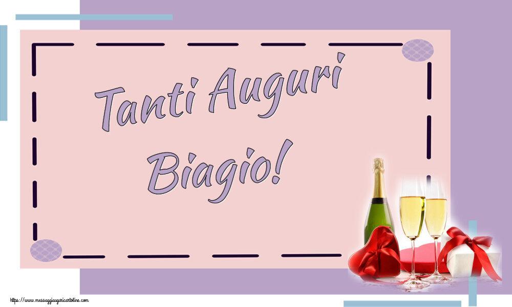 Cartoline di auguri - Tanti Auguri Biagio!