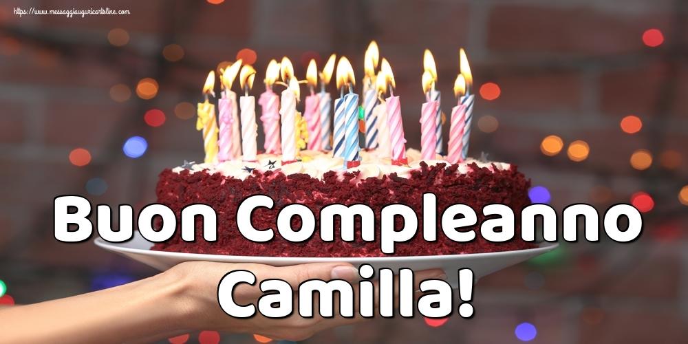 Cartoline di auguri - Buon Compleanno Camilla!