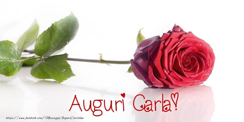 Cartoline di auguri - Auguri Carla!