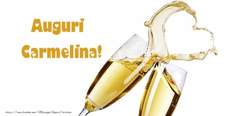 Cartoline di auguri - Auguri Carmelina!