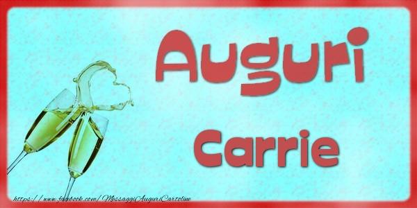 Cartoline di auguri - Auguri Carrie