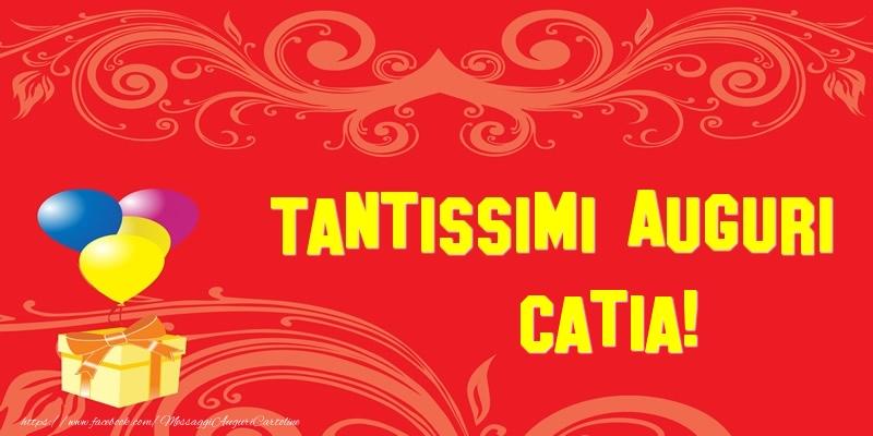 Cartoline di auguri - Tantissimi Auguri Catia!