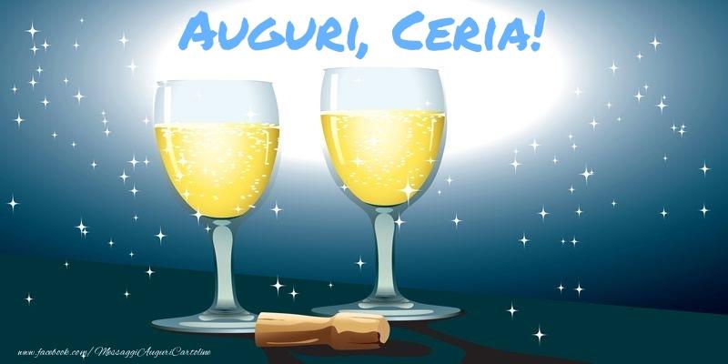 Cartoline di auguri - Auguri, Ceria!