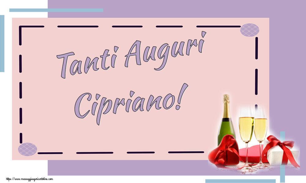 Cartoline di auguri - Tanti Auguri Cipriano!