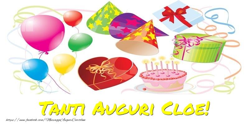 Cartoline di auguri - Tanti Auguri Cloe!