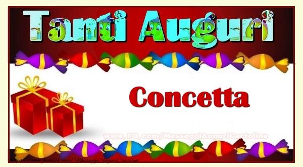 Cartoline di auguri - Te iubesc, Concetta!
