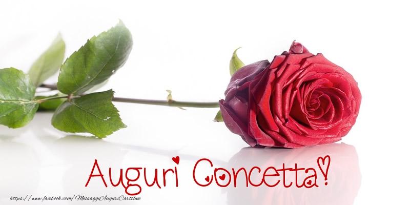 Cartoline di auguri - Auguri Concetta!
