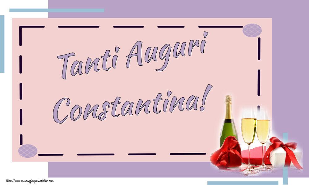 Cartoline di auguri - Tanti Auguri Constantina!