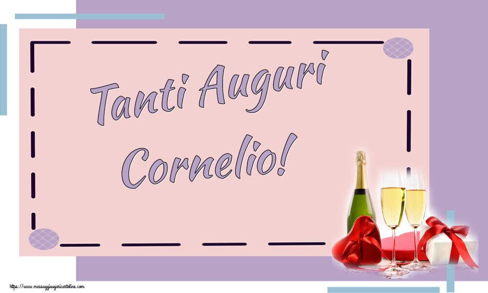 Cartoline di auguri - Tanti Auguri Cornelio!