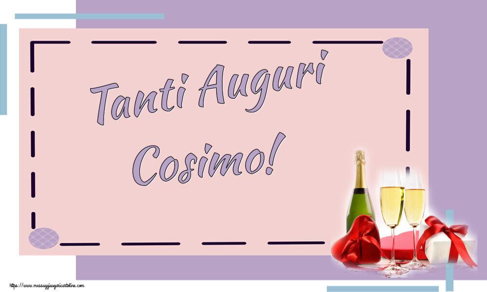 Cartoline di auguri - Tanti Auguri Cosimo!