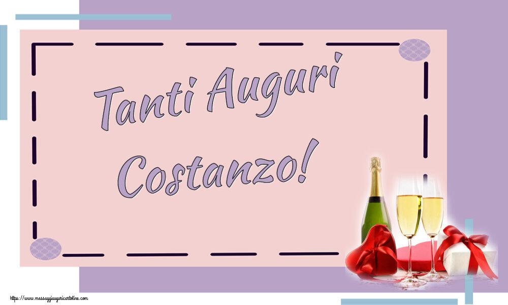 Cartoline di auguri - Tanti Auguri Costanzo!