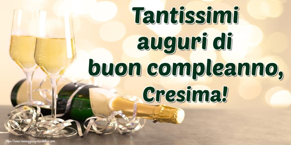 Cartoline di auguri - Tantissimi auguri di buon compleanno, Cresima!