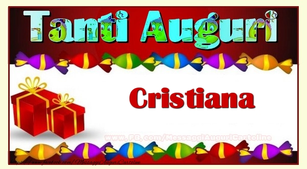 Cartoline di auguri - Te iubesc, Cristiana!